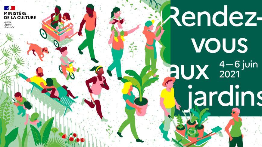 RDV aux jardins 2021 – La transmission des savoirs : du 4 au 6 juin 2021