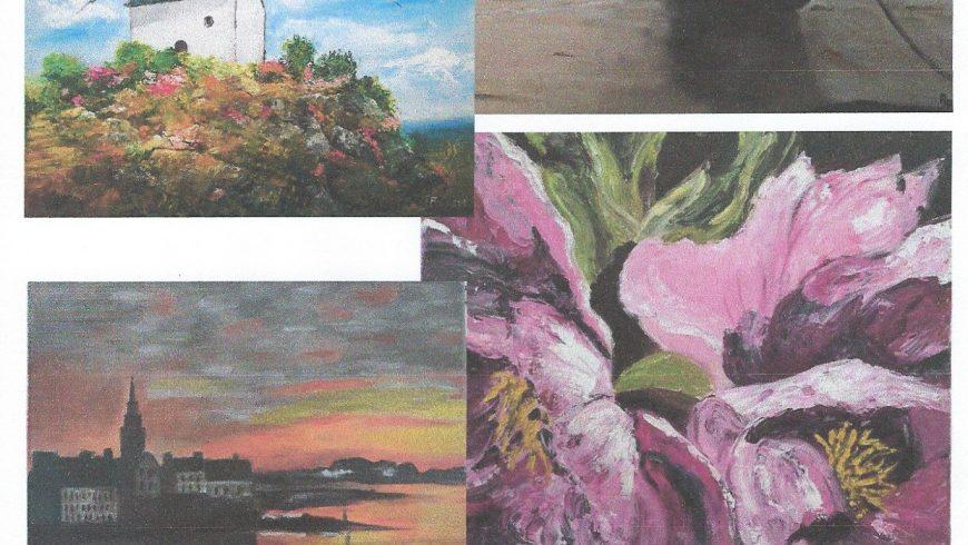 Expo peinture -Du 1er au 31 août 2021