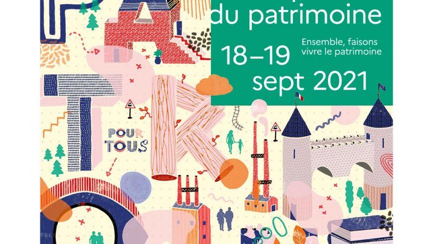 Journées Européennes du Patrimoine 2021 : visite guidée au jardin !